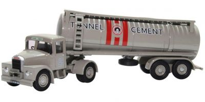 OXFORD 1/76scale Scammell Highwayman Tanker Tunnel Cement  [No.OX76SHT003]