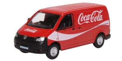 OXFORD 1/76scale VW T5 Van Coca Cola  [No.OX76T5V03CC]