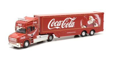 OXFORD 1/76scale Coca Cola T Cab Box Trailer   [No.OXTCAB04CC]