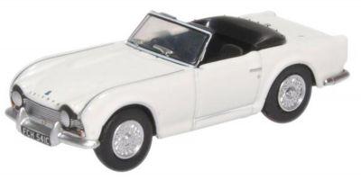 OXFORD 1/76scale Triumph TR4 New White  [No.OX76TR4003]