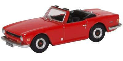 OXFORD 1/76scale Triumph TR6 signal red  [No.OX76TR6002]