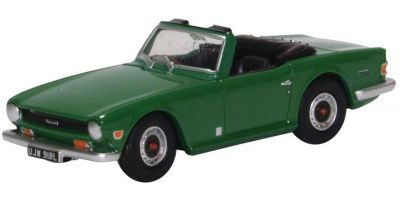 OXFORD 1/76scale Triumph TR6 Emerald Green  [No.OX76TR6003]