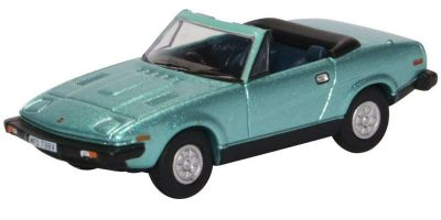 OXFORD 1/76scale Triumph TR7 Convertible Persian Aqua Metallic  [No.OX76TR7002]