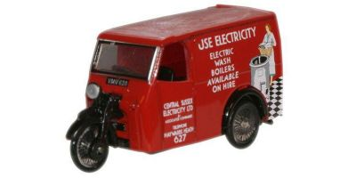 OXFORD 1/76scale Tricycle Van Electricity  [No.OX76TV005]