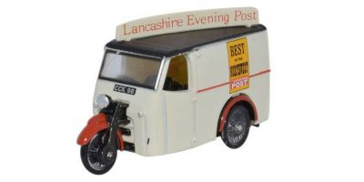 OXFORD 1/76scale Tricycle Van Lancashire Evening Post  [No.OX76TV006]