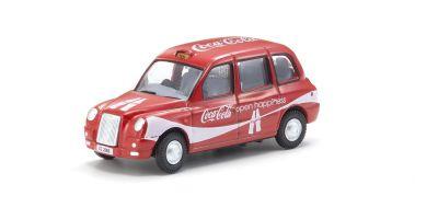 OXFORD 1/76scale TX4 Taxi Coca Cola  [No.OX76TX408CC]