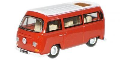 OXFORD 1/76scale VW Camping Car Senegal Red / White  [No.OX76VW004]