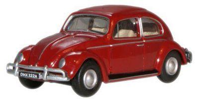 OXFORD 1/76scale VW Beetle Ruby Red  [No.OX76VWB002]