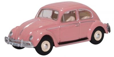 OXFORD 1/76scale VW Beetle Pink (HK Reg)  [No.OX76VWB11HK]
