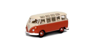 OXFORD 1/76scale VW T1 Samba Bus Sealing Wax Red Beige Grey  [No.OX76VWS001]