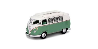 OXFORD 1/76scale VW T1 Camper Turquoise and White  [No.OX76VWS002]