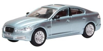 OXFORD 1/76scale Jaguar XF Crystal Blue  [No.OX76XF006]