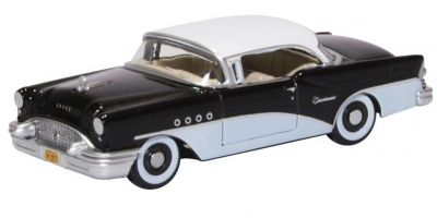 OXFORD 1/87scale Buick Century 1955 Black White  [No.OX87BC55005]