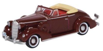 OXFORD 1/87scale Buick Special Convertible Coupe 1936 Cardinal Maroon  [No.OX87BS36003]