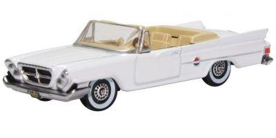 OXFORD 1/87scale Chrysler 300 Convertible 1961 Open Top Alaskan White  [No.OX87CC61003]