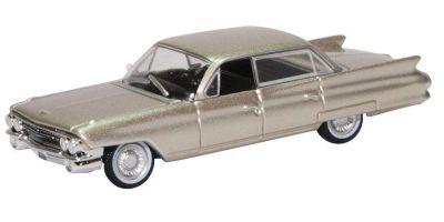 OXFORD 1/87scale Cadillac Sedan Deville 1961 Aspen Gold Metallic  [No.OX87CSD6102]