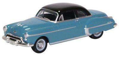 OXFORD 1/87scale Oldsmobile Rocket 88 Coupe 1950 Crest Blue/Black  [No.OX87OR50002]