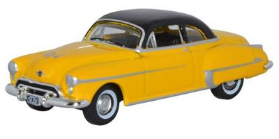 OXFORD 1/87scale Oldsmobile Rocket 88 Coupe 1950 Yellow  [No.OX87OR50003]