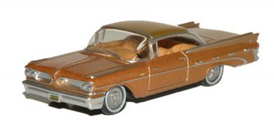 OXFORD 1/87scale Pontiac Bonneville Coupe 1959 Canyon Copper Metallic  [No.OX87PB59001]