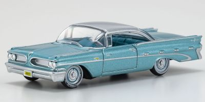OXFORD 1/87scale Pontiac Bonneville Coupe 1959 Seaspray Green  [No.OX87PB59003]