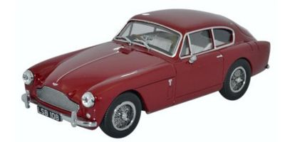 OXFORD 1/43scale Aston Martin DB2 Mk III Saloon Peony Red [No.OXAMDB2003]