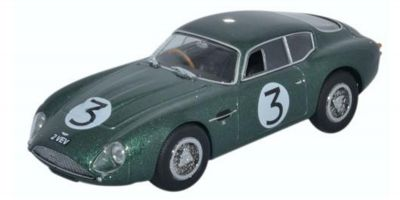 OXFORD 1/43scale Aston Martin DB4GT Zagato2 Vev Jim Clark Goodwood 1961  [No.OXAMZ002]