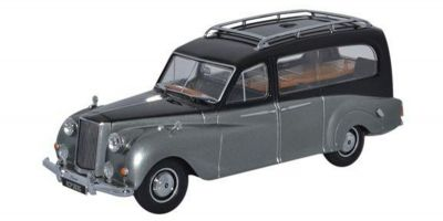 OXFORD 1/43scale Austin Princess Hearse Black And Silver  [No.OXAPH003]
