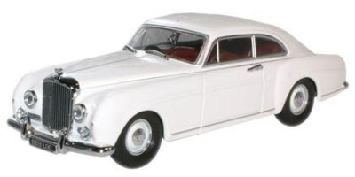 OXFORD 1/43scale Olympic White Bentley Continental  [No.OXBCF003]