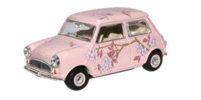 OXFORD 1/43scale Pink Floral (M & S Twiggy Advert) Mini Car   [No.OXMIN014N]