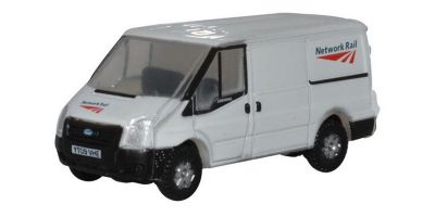 OXFORD 1/148scale Ford Transit Mk5 SWB Low Roof Network Rail  [No.OXNFT023]
