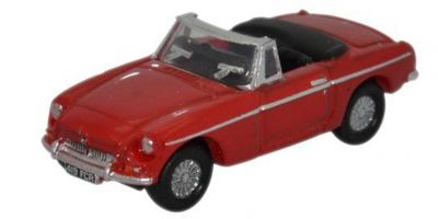 OXFORD 1/148scale MGB Roadster Tartan Red [No.OXNMGB001]