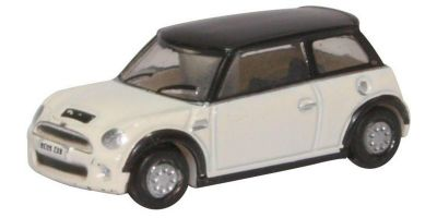 OXFORD 1/148scale New Mini Cooper S (Pepper White)  [No.OXNNMN002]