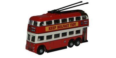OXFORD 1/148scale Belfast B. U. T. Trolleybus  [No.OXNQ1002]