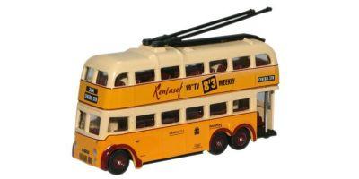 OXFORD 1/148scale Newcastle B. U. T. Trolleybus  [No.OXNQ1003]
