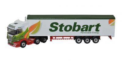 OXFORD 1/148scale Scania High Line Walking Floor Stobart Biomass  [No.OXNSHL02WF]