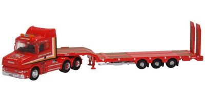 OXFORD 1/148scale Scania T Cab Semi Low Loader Sandy Kydd  [No.OXNTCAB006]