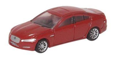 OXFORD 1/148scale Jaguar XF Carnelian Red  [No.OXNXF001]
