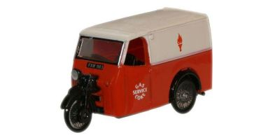 OXFORD 1/76scale Tricycle Van Gas and Coke Service  [No.OXTV004]