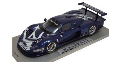 BBR 1/18scale Maserati MC12 ( Geneva Motor Show 2004) Blue [No.P1802]