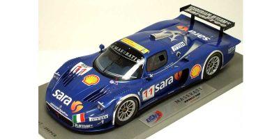 BBR 1/18scale Maserati  MC12 GT FIA 2007 Playteam (No.11/ Limited) Blue [No.P1807]