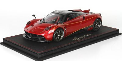 BBR 1/18scale Pagani Dinastia 2015 Red/Carbon Fiber with case [No.P18126A]