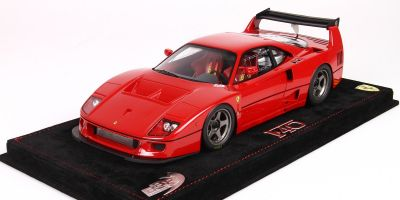 BBR 1/18scale Ferrari F40 LM 1989 Red With Case [No.P18139AV]