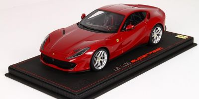 BBR 1/18scale Ferrari 812 Superfast 2017 New special Red 70th Anniversary with case  [No.P18147AV]