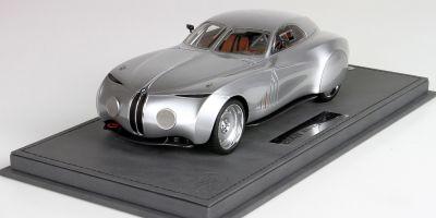 BBR 1/18scale BMW Concept Mille Miglia 2006 Silver  [No.P1884]