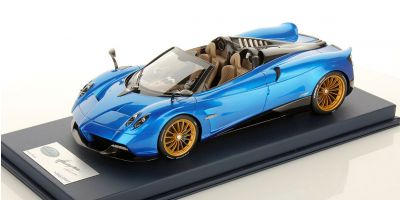 LOOKSMART 1/18scale Pagani Huayra Roadster Blue Francia with Case [No.LS18013A]