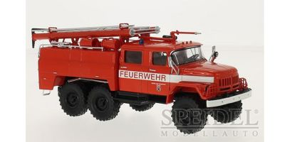 Premium ClassiXXs 1/43scale ZIL 131 (AC-40) fire brigade Pump Truck Red  [No.PCS47016]