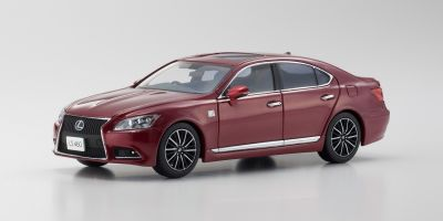 KYOSHO 1/43scale Lexus LS460 F SPORT Red Mica  [No.KS03659RM]