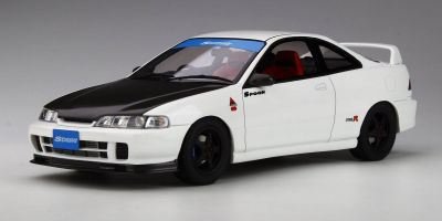 OttO mobile 1/18scale Honda Integra (DC2) Type R SPOON (white) Hong Kong Exclusive Model Limited Edition  [No.OTM006RT]