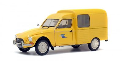 SOLIDO 1/18scale CITROËN ACADIANE (LA POSTE) yellow  [No.S1800405]