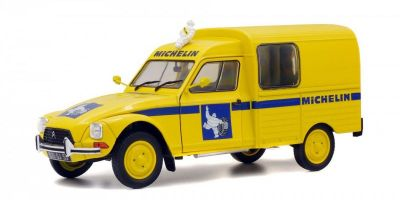 SOLIDO 1/18scale CITROËN ACADIANE (MICHELIN) yellow  [No.S1800406]